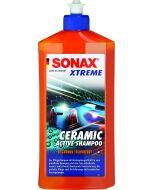 Sonax Keraaminen Shampoo 500 ml Ceramic Active Shampoo SI-Carbon Technology