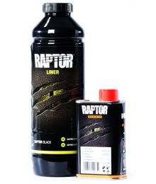 Lavapinnoite Musta Raptor 0,95 L U-POL