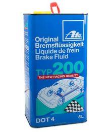 Jarruneste TYP200 DOT4 5L
