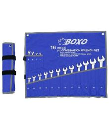 Kiintolenkkiavainsarja 6-24mm 16-osaa Boxo