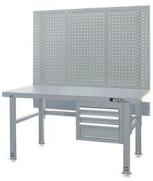 Työpöytä vetolaatikolla ja reikälevyllä 1500 mm