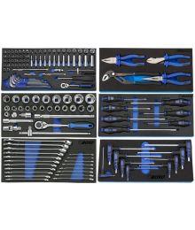 Boxo Työkalut Työkaluvaunuun 285-7071, 6 Moduulia