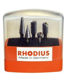 Kovametalliviilasarja 5-osaa Rhodius