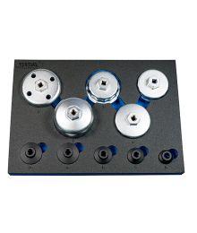 Öljysuodatinavainsarja 10-osaa 24-89 mm