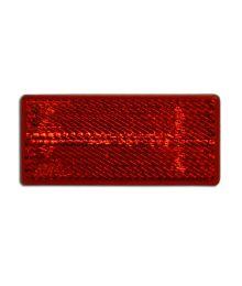 Heijastin punainen 69x31,5 teippikiinnitys Talmu