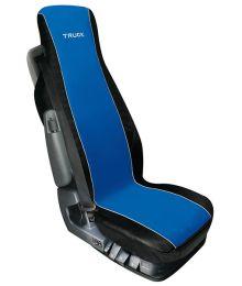 Istuinsuoja Elisa 1 kpl Musta/Sininen Rekka-malli