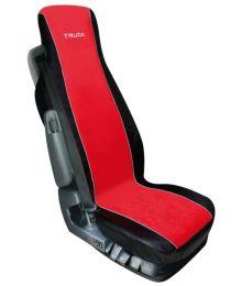 Istuinsuoja Kuorma-autoon 1kpl Musta/Punainen