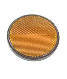 Tarraheijastin Keltainen Peräkärryyn 80mm
