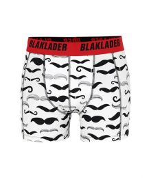 Miesten boxerit (2-pack) kuviollinen/musta