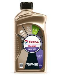 Total Traxium Dual 9 FE 75W-90, 1L