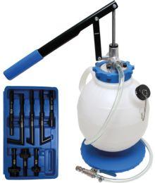 Öljyntäyttötyökalu 7 l Kahdeksan Adapteria BGS