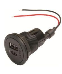 USB virtarasia 12/24V A+C 3