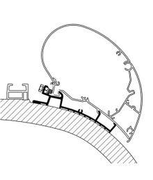 Carthago Chic sovite, 6/9-sarja, 4,50 m, anodisoitu