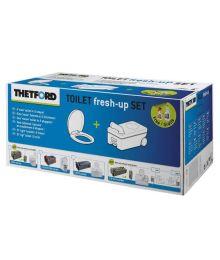 Kemiallisen vessan Fresh Up Set Thetford C220, kasetissa pyörät