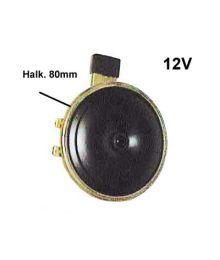 Äänitorvi 12V 80mm 2-nap.