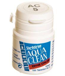 Veden säilöntätabletti Aqua Clean, 5 L, 5L/tabletti, 100 kpl