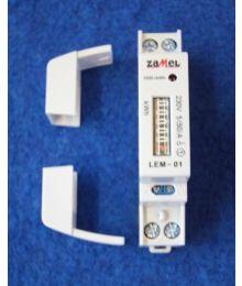 kWh-mittari, 1-vaihe, analoginen EM110