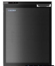 Jääkaappi Frezzer Pro 65l, 12/24V, musta Kompressorijääkaappi