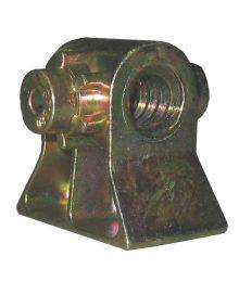 Nurkkatuen mutteri 16x4, 15mm korvat