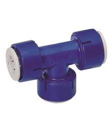 T-liitin Uniquick 12mm putki/putki/putki