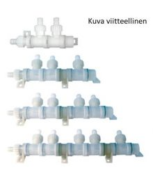 Vesijärjestelmän jakokappale 2-osainen