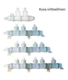 Vesijärjestelmän jakokappale 4-osainen