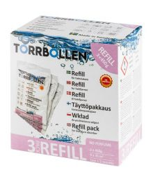 Täyttöpussipakkaus Torrbollen, 3kpl