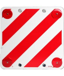 Varoituskyltti 50x50cm, puna-valkoinen