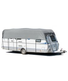 Asuntovaunun suojapeite 400 - 450 x 390 cm