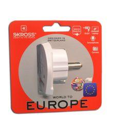 Matkailijan Adapteri Europe